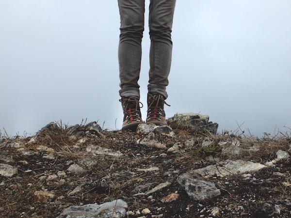 Boots for barren terrain