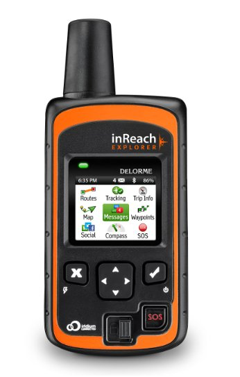 DeLorme Inreach Explorer Handheld GPS for Hunting